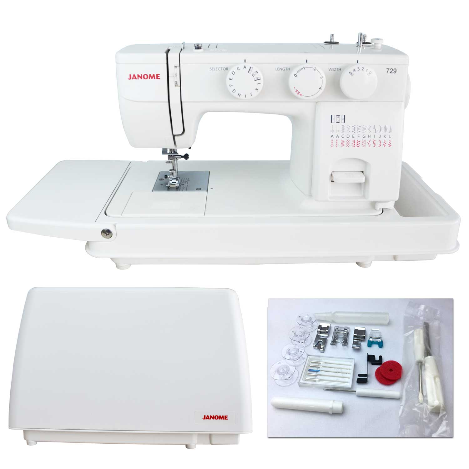 Janome Airthread 2000D professional - INGEnaaimachines | 1500x1500