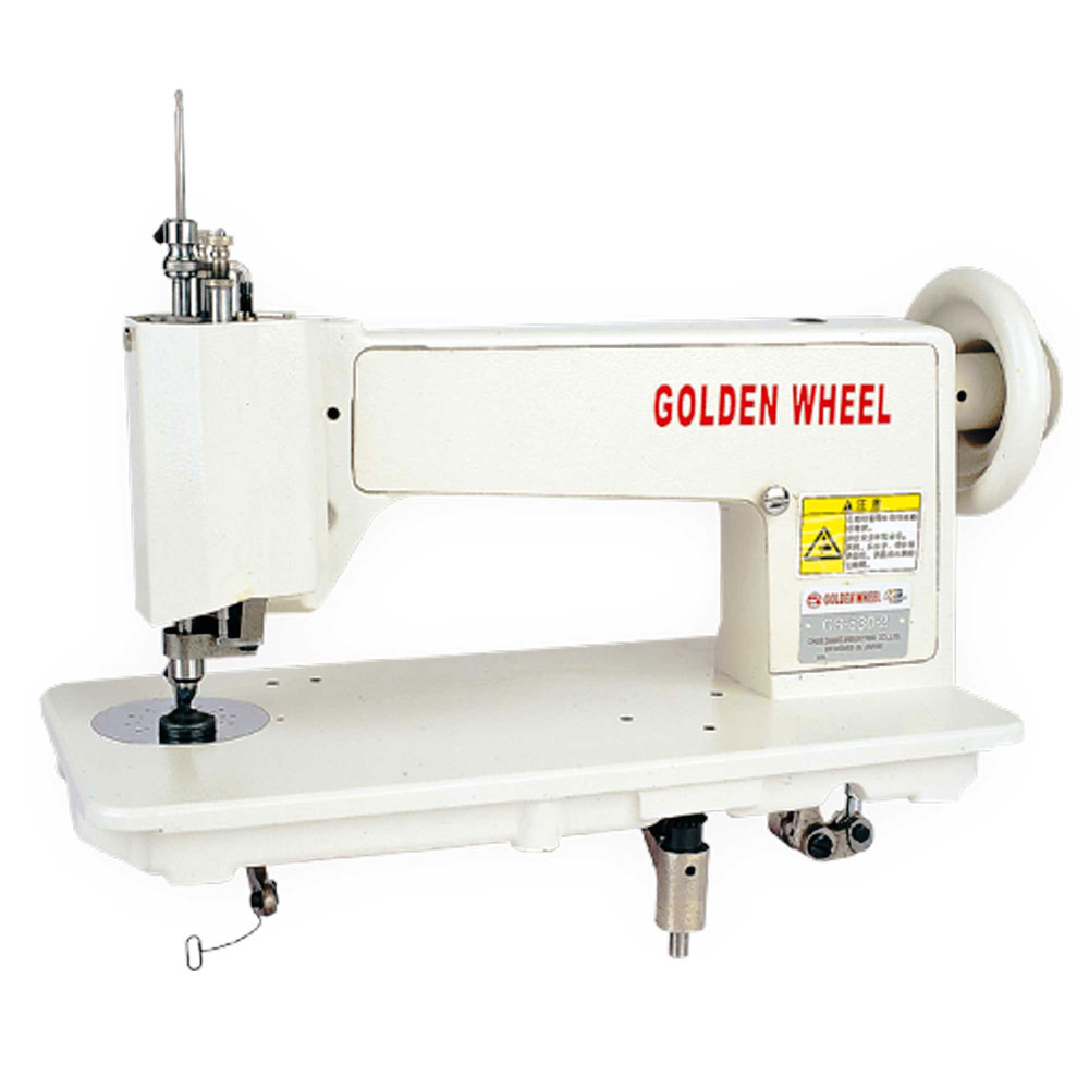 Golden Wheel Cs 530 2 Handle Operating Chain Stitch Embroidery Machine
