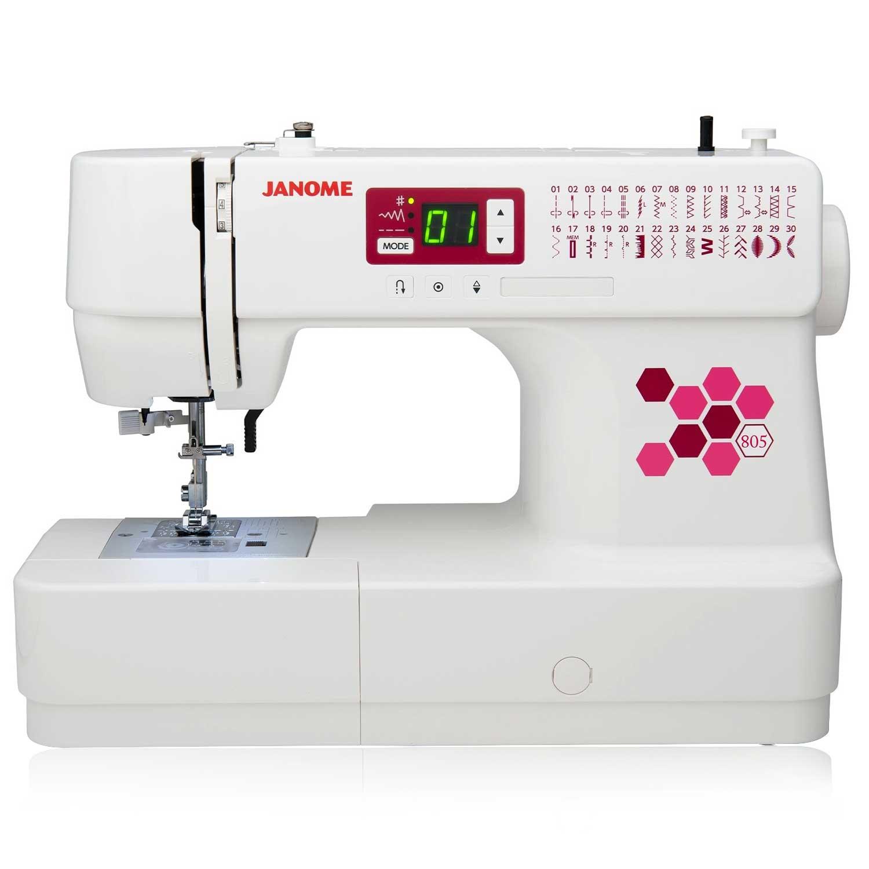 Janome 805 Computerized Sewing Machine Sewing Market
